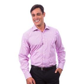 Promoçao Kit 4 Camisas Social Masculina Colombo Original