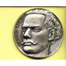 2338-medalha Castro Alves-100 Anos Falecimentio