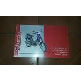 Zanella Sol 4t Varias Manual De Usuario Y Garantia