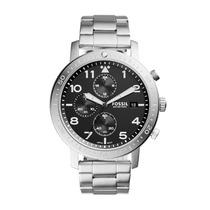 Relógio Masculino Fossil Ch3082/1pn Pulseira Aço Prata