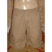 Bermuda Jeans Masculina Tam. 40 Semi Nova 100% Algodão S4