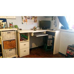 escritorio juvenil esquinero