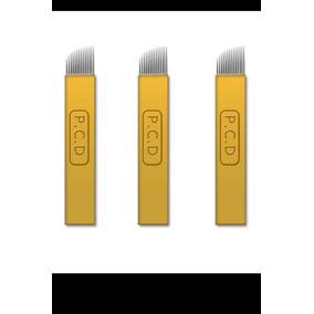 10 Agujas Microblading P.c.d 14 Pin