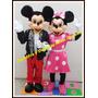 Alquiler Disfraz Cabezon Ballest Mickey Minnie Peppa Minion