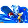 Painel Decorativo Festa Infantil Sonic (mod3)