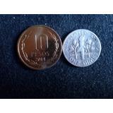 Moneda Estados Unidos One Dime Plata 1946 (c8)