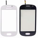 Tela Vidro Touch Screen Samsung Galaxy Fame Duos S6810 S6812