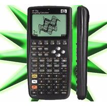 Calculadora Gráfica Hp 50g Original + Capa Original- Hp50g