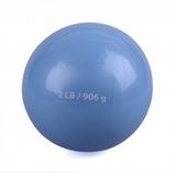 Pelota De Peso 2 Lb Bodyfit Yo-wb02 Azul