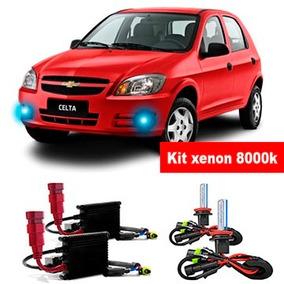 Kit Xenon Hb4 8000k Para Farol De Milha Do Celta 2007 A 2014