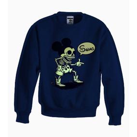 Sudadera Estilo Mickey Dead Mouse Disney 100% Jinx Original