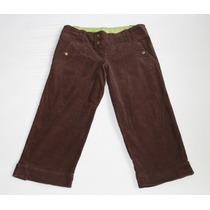 Pantalón / Jeans 3/4 Pull & Bear (tela Pana)
