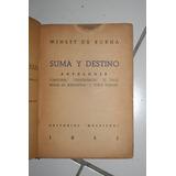 Libros Antiguos Suma Destino Winett De Rokha 1951 Multitud