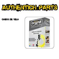 Jogo De Cabos Vela 8mm Renault Clio 1.0 16v Flex 05 Em Diant