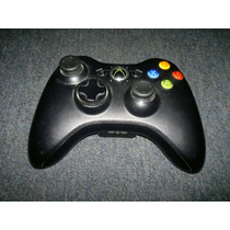 Control Inalambrico Original En Color Negro Para Xbox 360