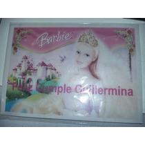 Láminas Comestibles Para Tortas Y Cupcakes. Barbie Rapunzel