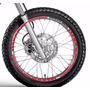 Friso Adesivo Refletivo Roda M4 Moto Honda Bros 125 150 160