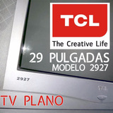 Tele Tv Pantalla Plana Color 29 P Real Flat Sonido Groso