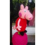Souvenir Títeres De Dedos Con Chupetines Amigurumis Pepa Pig