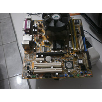 Kit Pl Mãe Asus P4/775+ P 2.66ghz + Cooler + 512gb Ddr2.