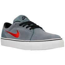 Zapatillas Nike Satire (gs) Skate Sb Niños Urbana 580426-460