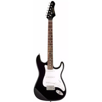 Guitarra Electrica Black - Kansas Egp-pg10b Kan