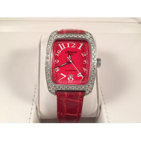 Reloj Locman Italy Con Caja De Aluminio Y Diamantes