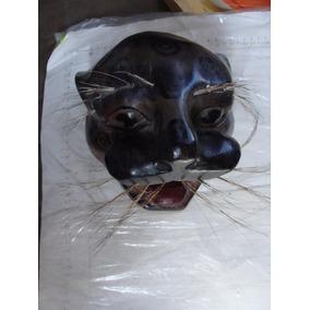 Mascara Jaguar En Madera Muy Bonita Decoracion , Como Aparec