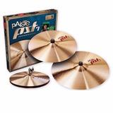 Platillos Paiste Pst7 Medium Universal Set Hh14 + Cr16 + R20