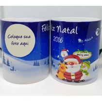 Canecas De Natal Personalizadas (cerâmica)