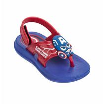 Papete Infantil Grendene Capitão America 21531 - Maico Shoes