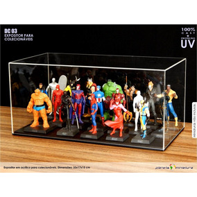 Expositor Case Acrílico Figuri Marvel Dc Eaglemoss Star Dc03