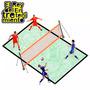 Cancha Completa De Fútbol Tennis Profesional Tenis - El Rey