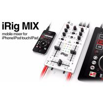 Mezcladora Portátil De 2 Canales Irig Mix