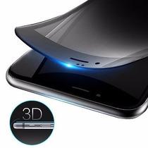 Mica 3d Cristal Templado Con Fibra De Carbono Iphone 6 6s 7