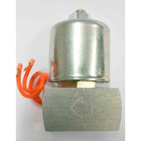 Válvula Solenóide Suspensão Ar 8mm Pistão E Mola Em Inox