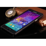 Capa Bumper Aluminio Celular Samsung Galaxy Note 4+1p/vidro