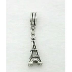 Berloque Pingente Torre Eiffel Para Pulseira Pandora Vivara