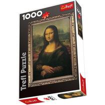 La Gioconda Mona Lisa Leonardo Da Vinci Puzzle 1000 P Trefl