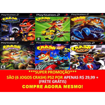 Crash Mind Over Mutant Playstation (kit 6 Jogos Ps2 Infantil