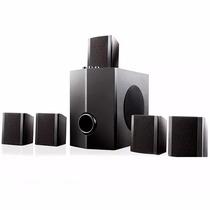 Home Theater Multilaser Sp087 5.1 Bivolt Dvd Pc Tv Video Gam