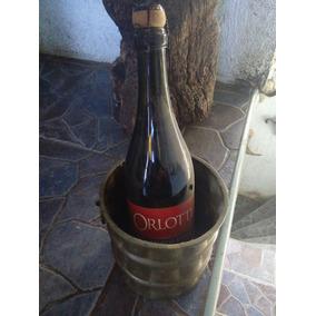 Cubo Enfriador De Botellas De Vino Vintage.