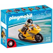 Playmobil 5116 Moto De Carreras P