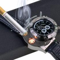 Reloj Encendedor Usb Vintage Elegante