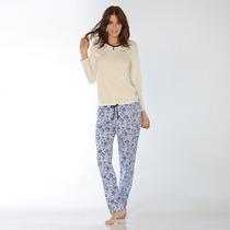 Pijama Talles Especiales Flor Luz De Mar Dreams 81044 B1