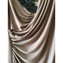 Vestido Jersey Bordado Paetês Alphorria Fendi E Preto P