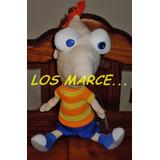 Peluche Phineas Y Ferb Disney Wabro Original 33 Cm Oferta !!