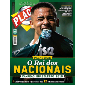 Placar Palmeiras - O Rei Dos Nacionais - Campeão Brasileiro