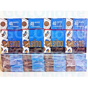 Pack 12 Mazos Naipes Plastificados Casino X40 Cartas Español