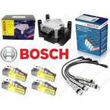 Kit Bobina+cables+bujias 3 Elect Bosch Gol Power 1.4